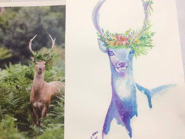 Deer 04.20.2020 artforearth01a04.20.2020 artforearth03a