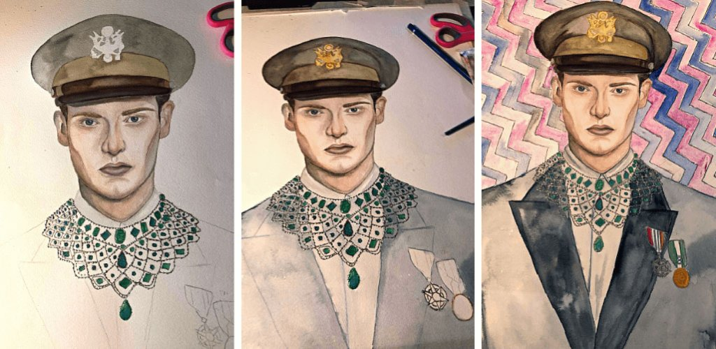 6 Male in Uniform by Theodora Lionti