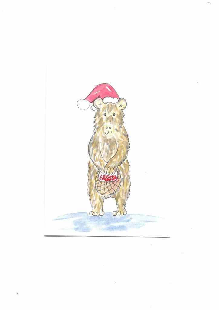 Brown Bear Berry Christmas Brown bear berry christmas