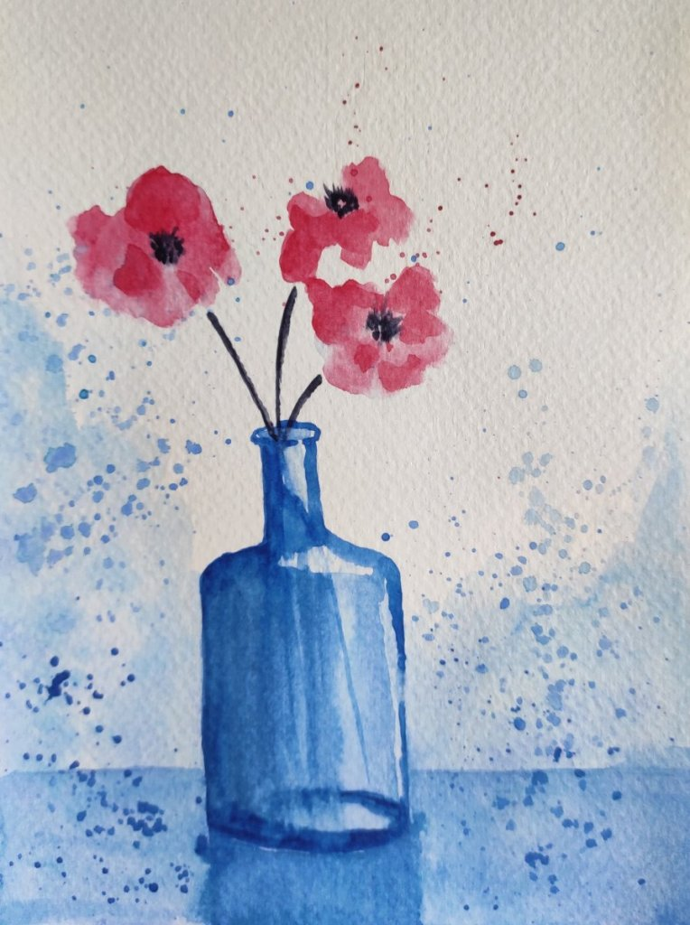 Day 02 Prompt: Vase #doodlewashAugust2021 Vase_Varsha Koli
