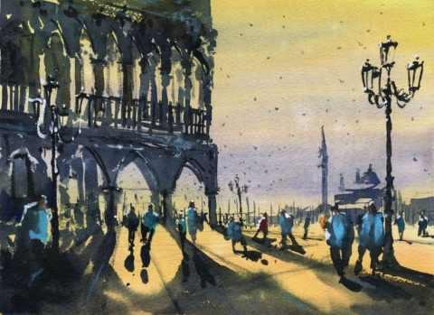 Darren Yeo Watercolour Mentor Painting
