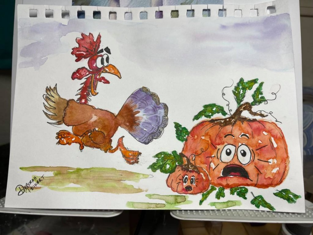 Run…. Thanksgivings coming…. Turkey Running unedited
