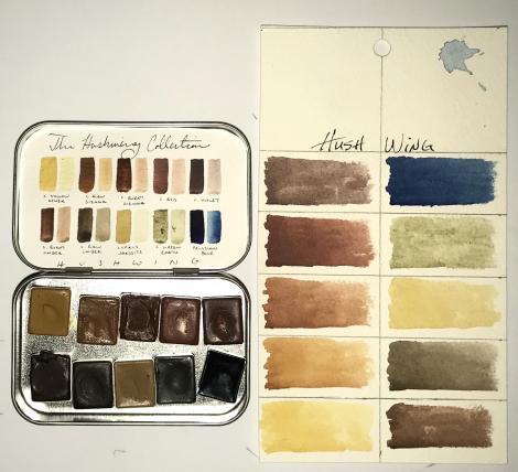 Hushwing Watercolors