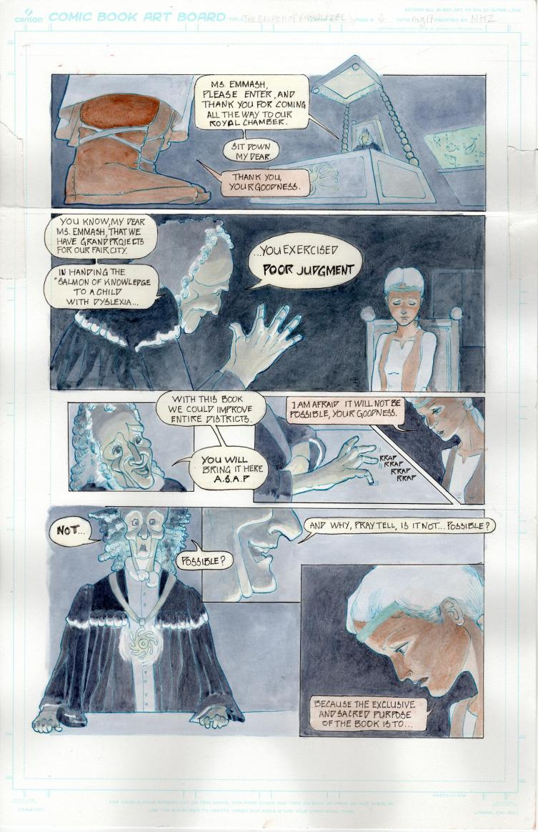 Salmon of Knowledge page 2