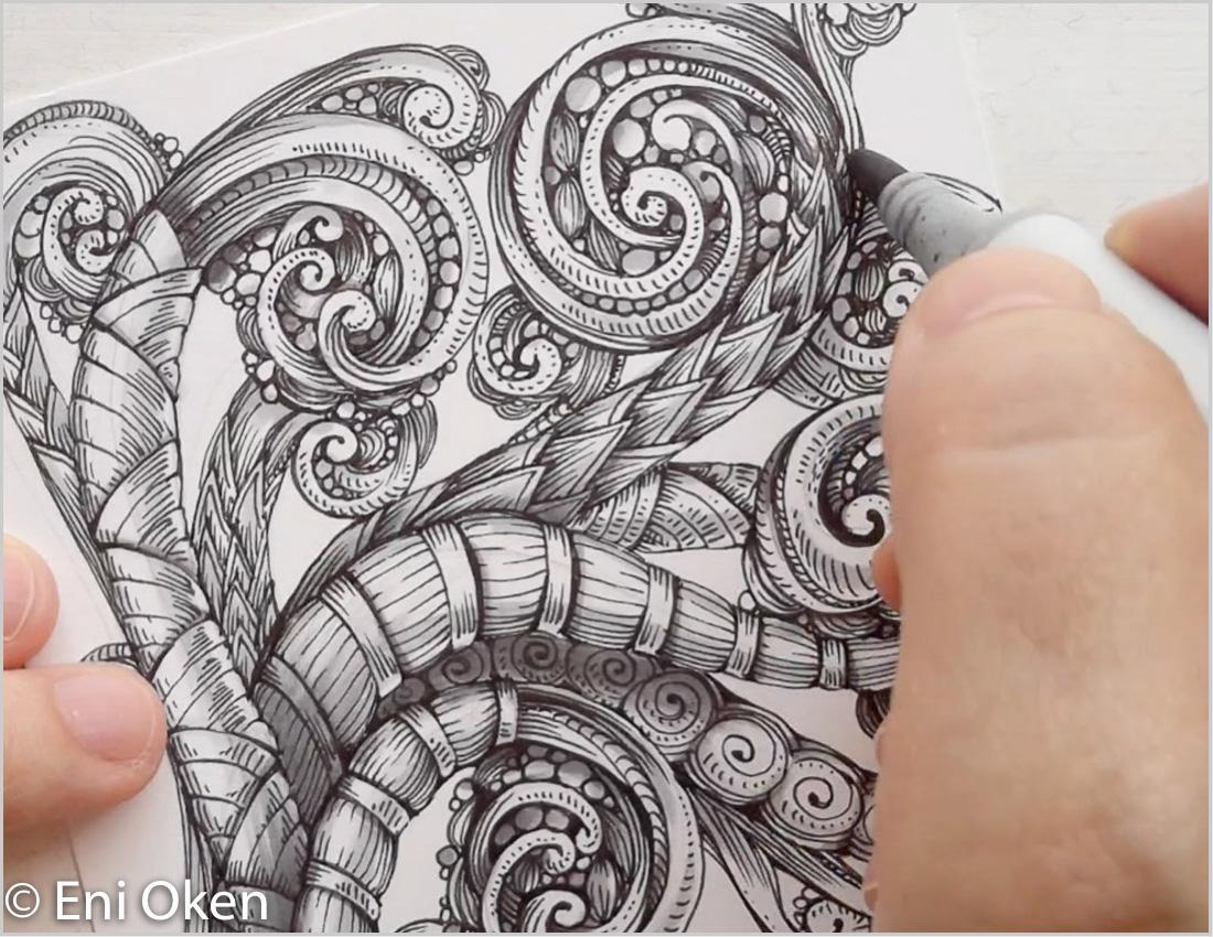 Tangled Scrollwork