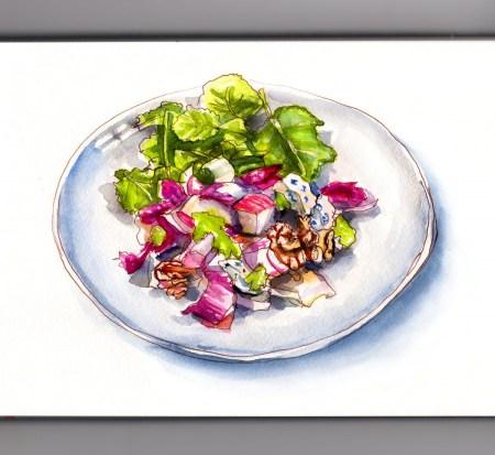 Day 3 _ A Fresh Autumn Salad_IG