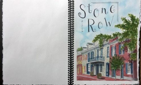 #Doodlewash - Homemade Sketchbook by Annie Glacken