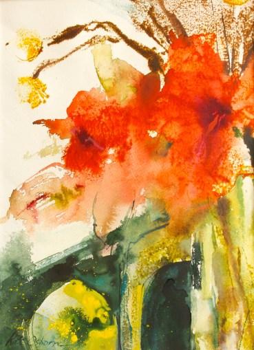 #WorldWatercolorGroup - Watercolor painting by Kate Osborne - #doodlewash
