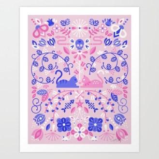 #WorldWatercolorGroup - Watercolor Art by Cat Coquillette - Kitten Lovers Art Print - #doodlewash