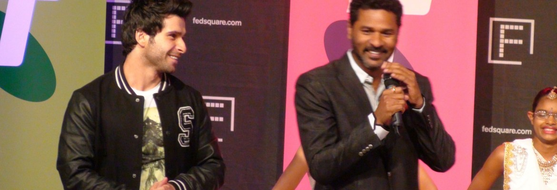Prabhu Deva and Girish Kumar at Indian Film Festival Melbourne 2013