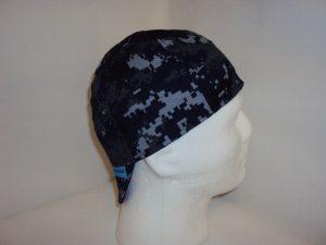 US Navy Marprt NWU Blue Digital Camo Cap