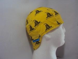 Don't Tread On Me Yellow Welding Cap