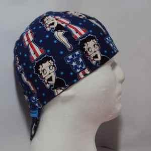 Betty Boop Welding Cap