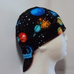 Solar System Black Welding Cap