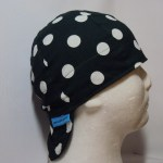 Polka Dots White On Hunter Welding Hat