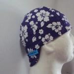 Hibiscus Purple Welders Cap