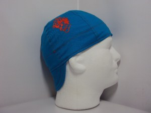 Embroidered Flame Skull Welding Cap