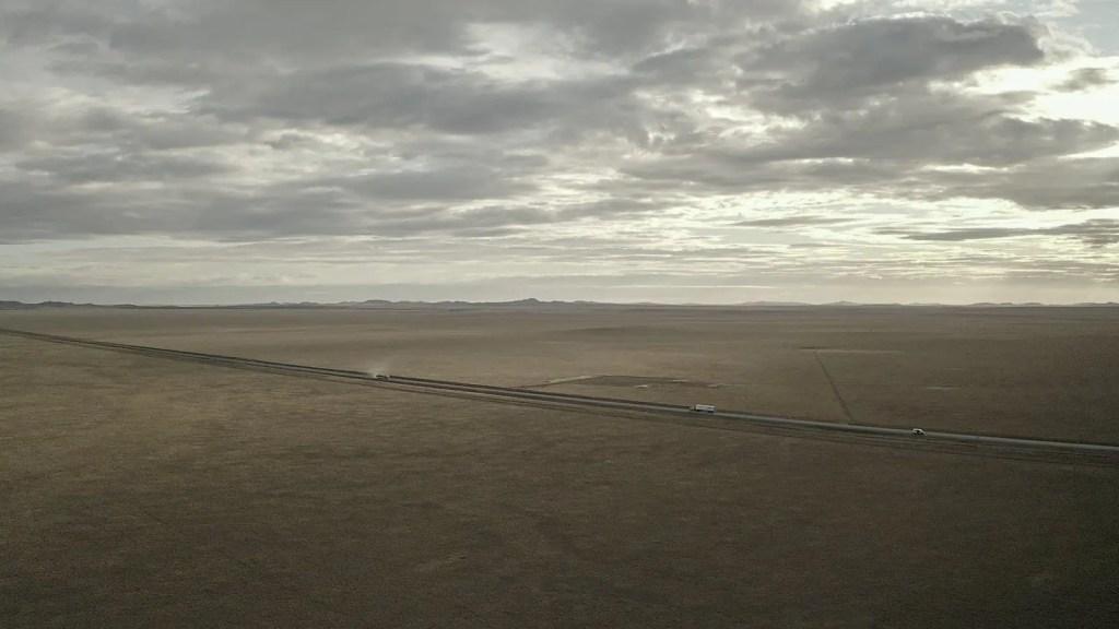 Patagonia dal drone
