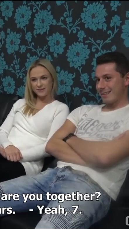 หนังโป๊ฝรั่ง 20+ เต็มเรื่อง ซับไทย SUBTHAI เรื่อง Czech Wife Swap 4 รายการจริง ทดลองแลกผัวแลกเมีย เย็ดจริง เสียบจริง ตอนที่ 4