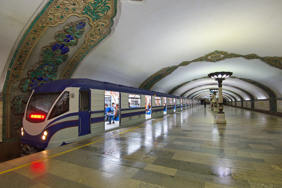 Tashkent Metro Train
