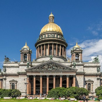 State Museum St. Isaac's Cathedral, St. Petersburg front View