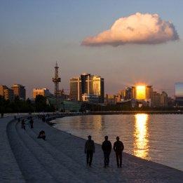Baku Caspian Sea Boulevard