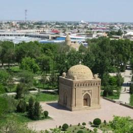 Ismail Samanid Mausoleum Aerial View