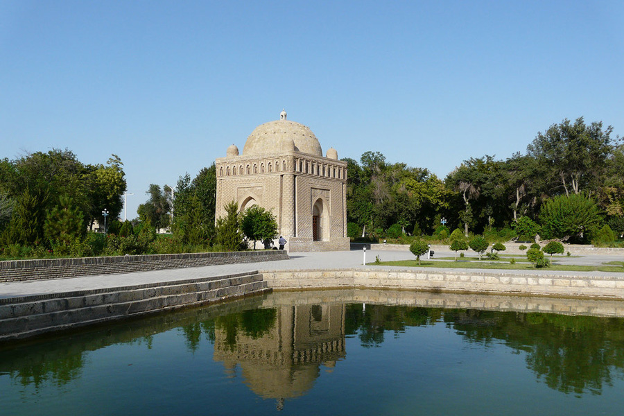 Ismail Samanid Mausoleum Pond