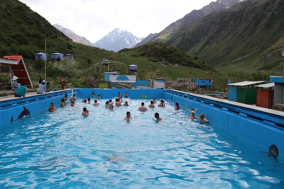 Issyk-Ata Gorge Pool
