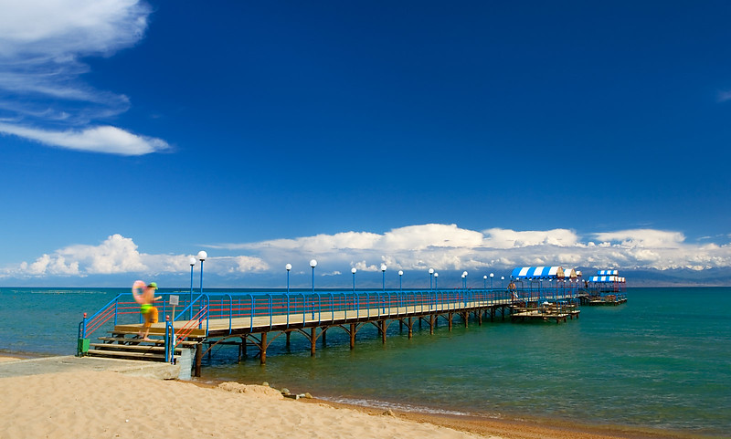 Issyk-Kul Lake Bridge