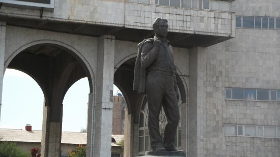 Monument to Chingiz Aitmatov