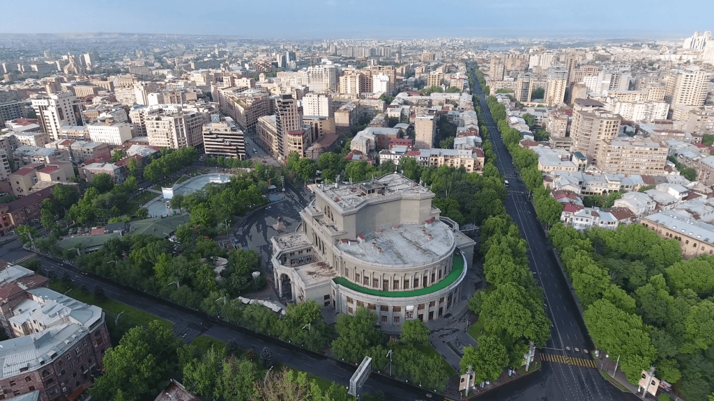 Yerevan Opera Theater full View
