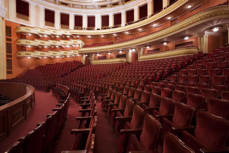 Yerevan Opera Theater Inside