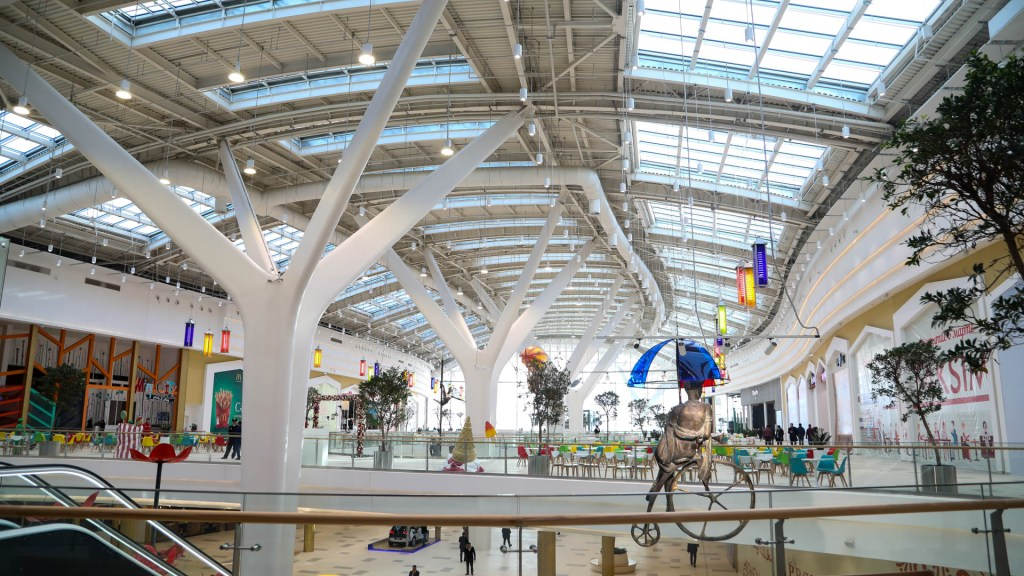 Mega Silk Way Shopping Mall