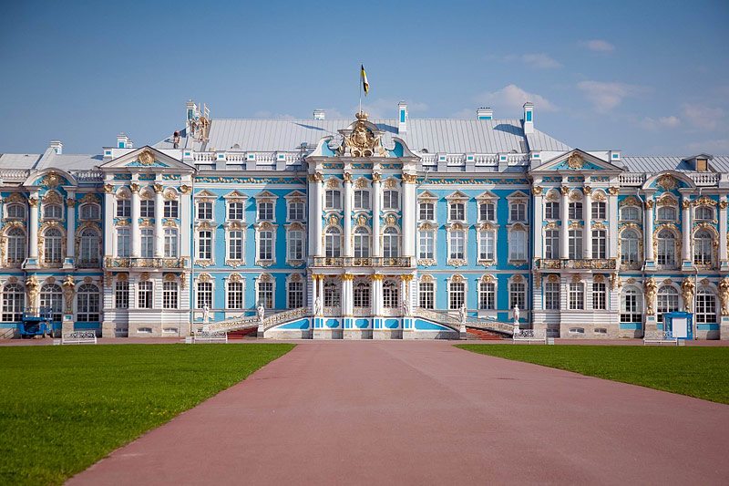 Catherine Palace front View