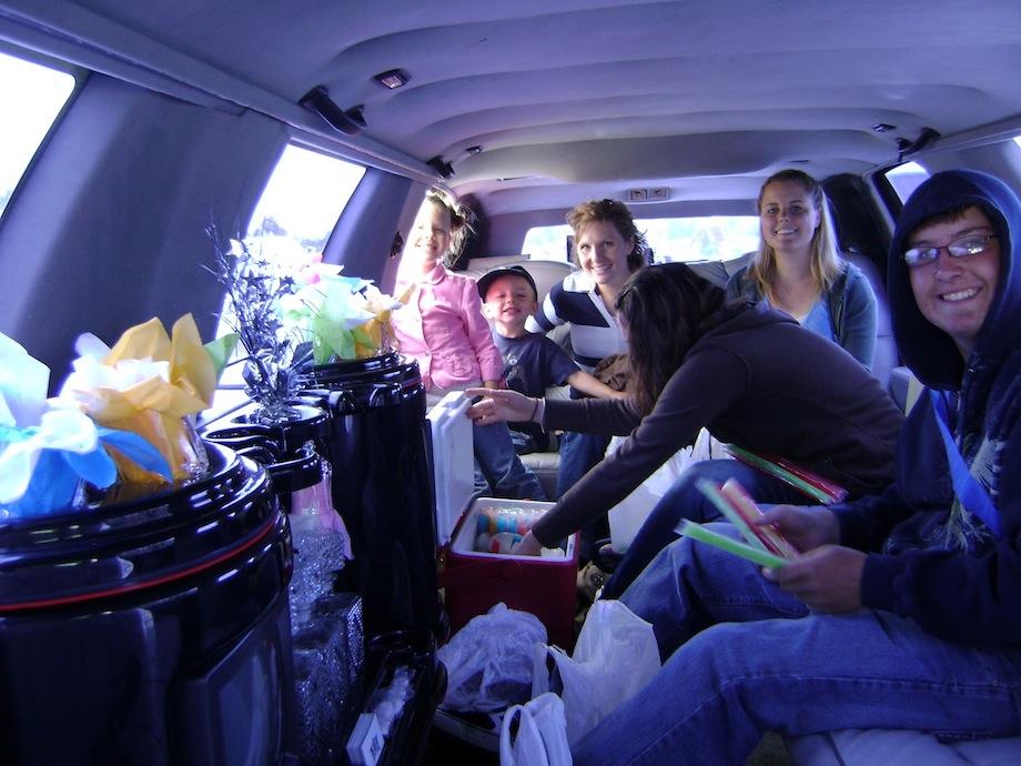 Limousine Ride Fun