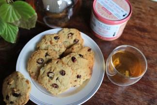 Biscuits Orange Cranberries