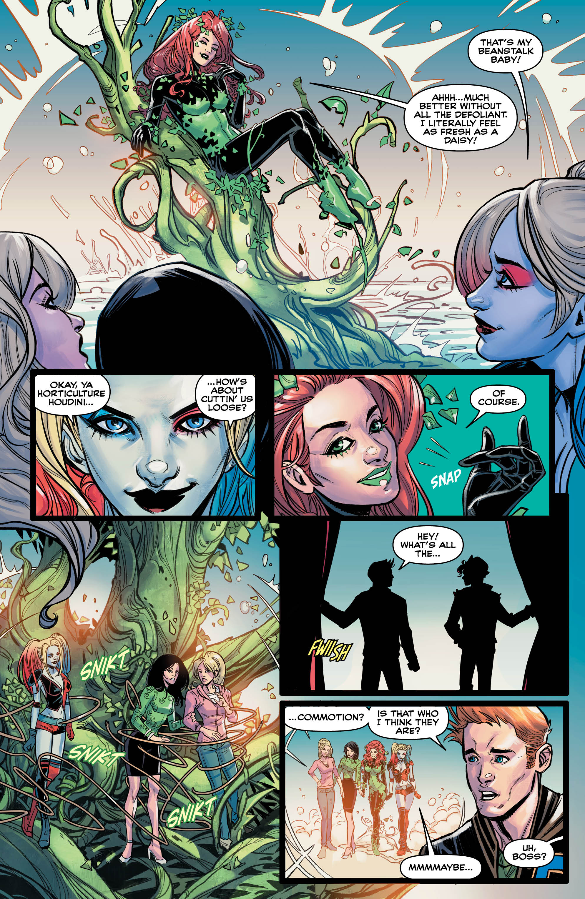 EXCLUSIVE The wanton buffoonery of Harley  Ivy Meet Betty  Veronica comes to an end