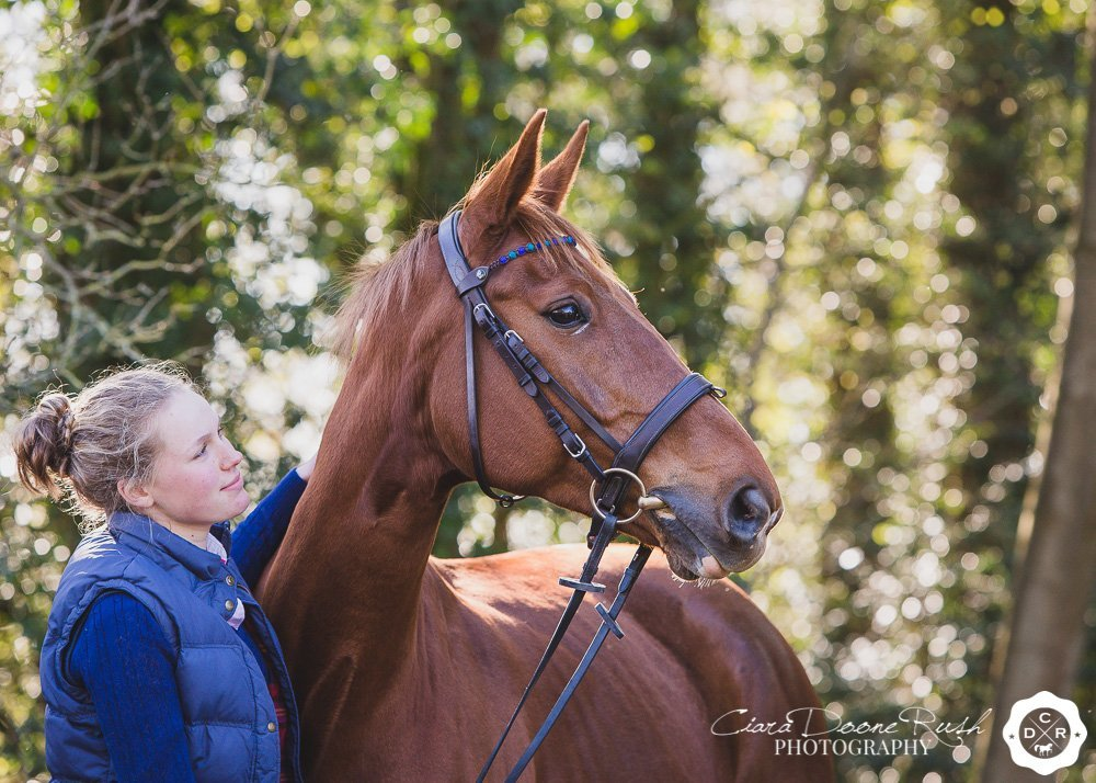 Capturing the bond between a horse and rider