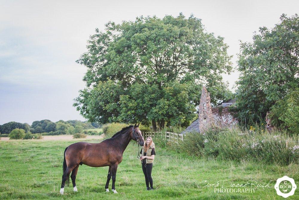 Georgie's Horse and Rider Photo Shoot