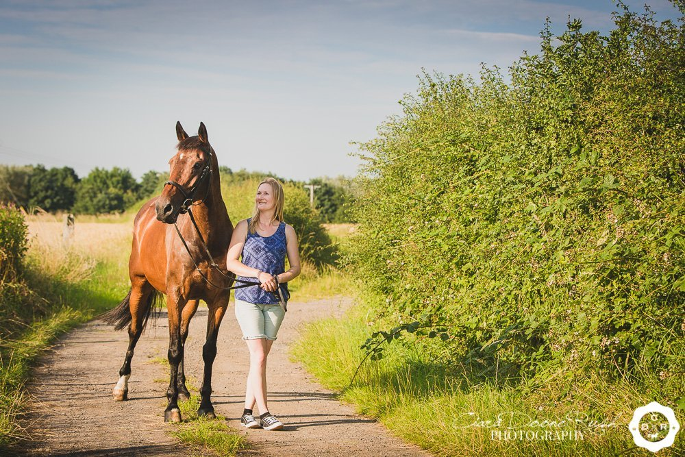 horse and rider portrait shoot