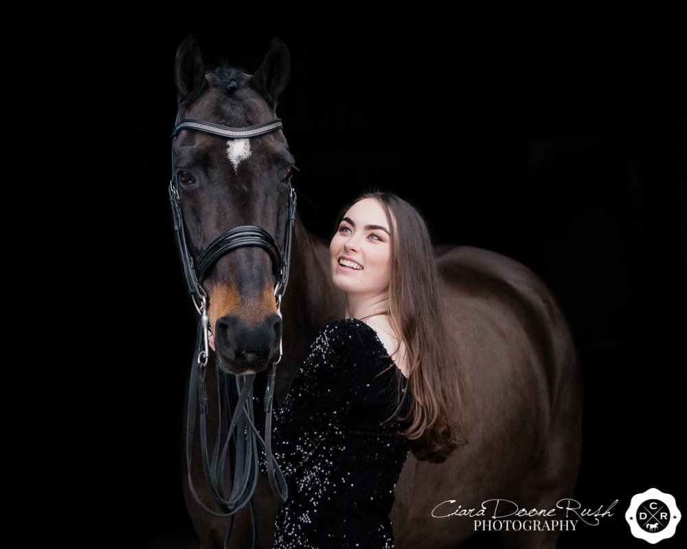 emily bradshaw on a photo shoot with alfie