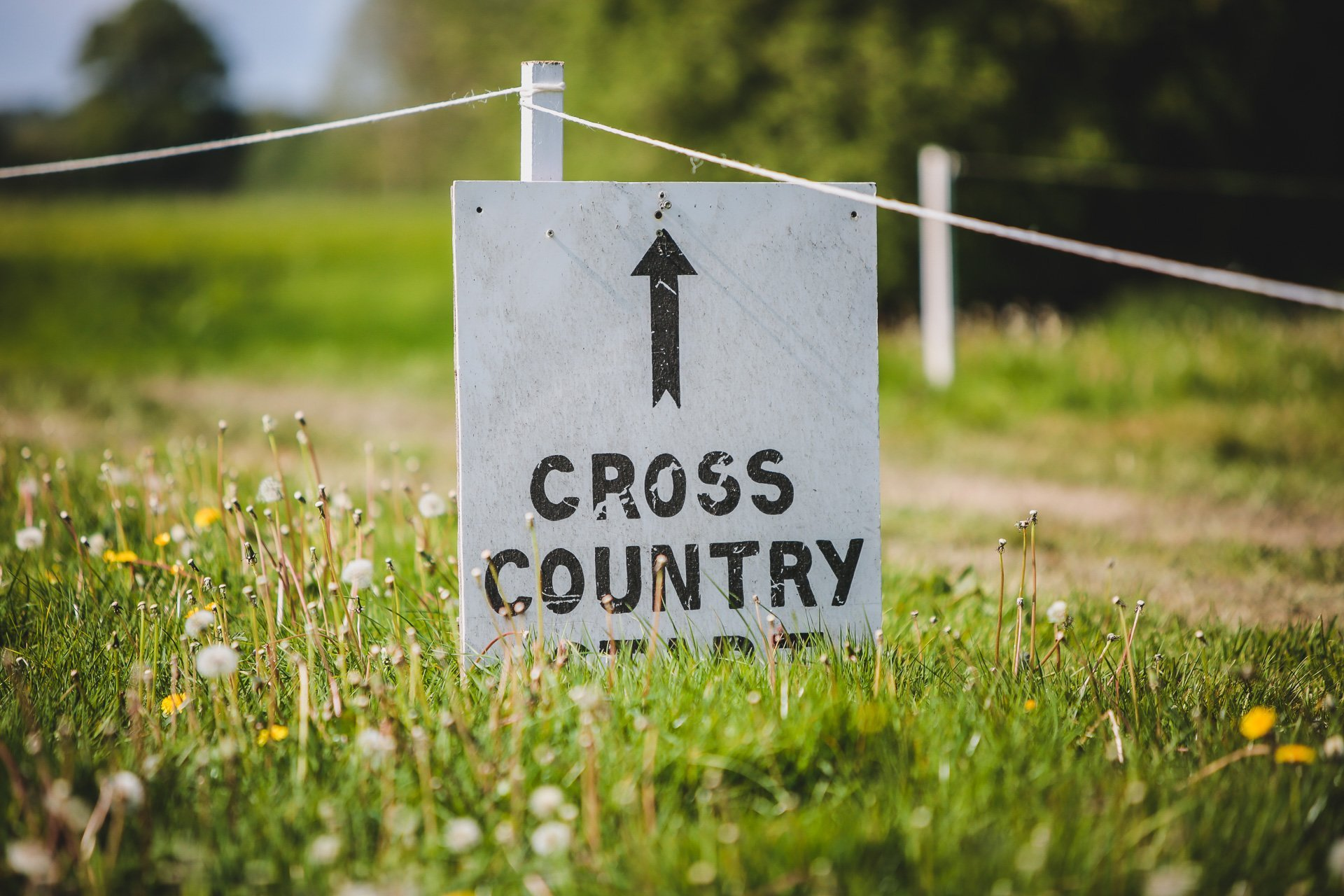 cross country at Llanymynech horse trials