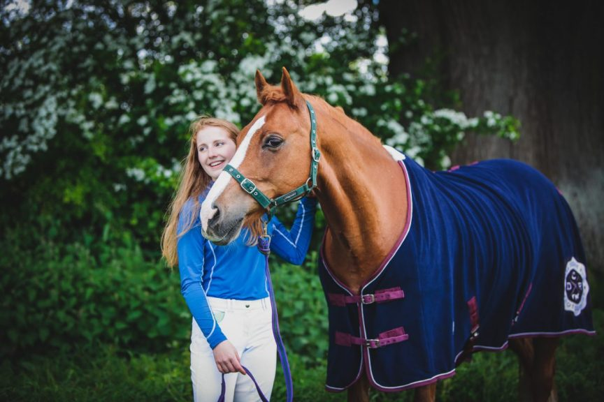Isabella Shaw and Only Sometimes on a B*Spoke Competition Shoot at Llanymynech HT 2017