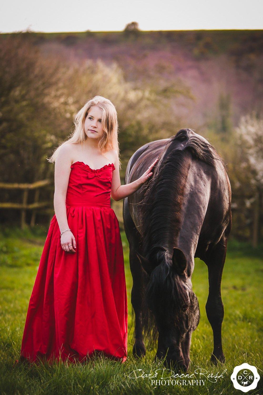 Hero and her lusitano stallion