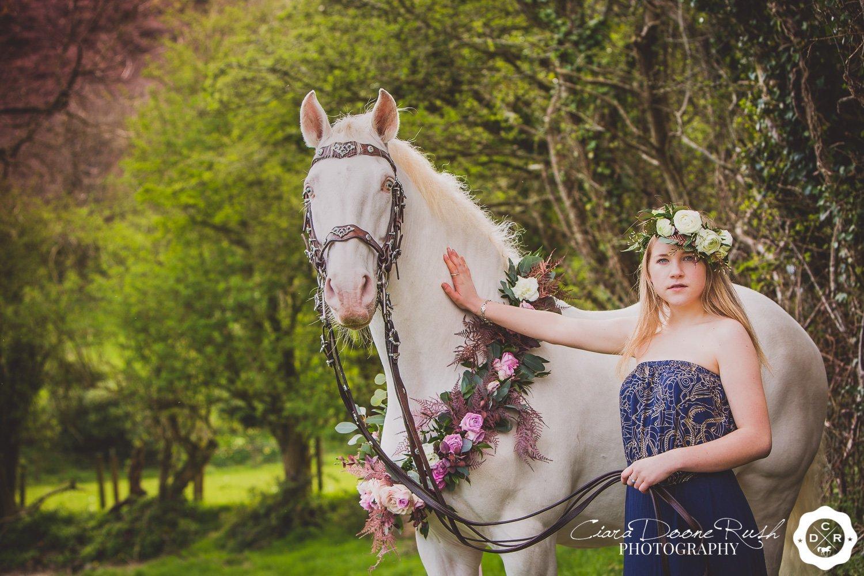 creative equine photo shoot