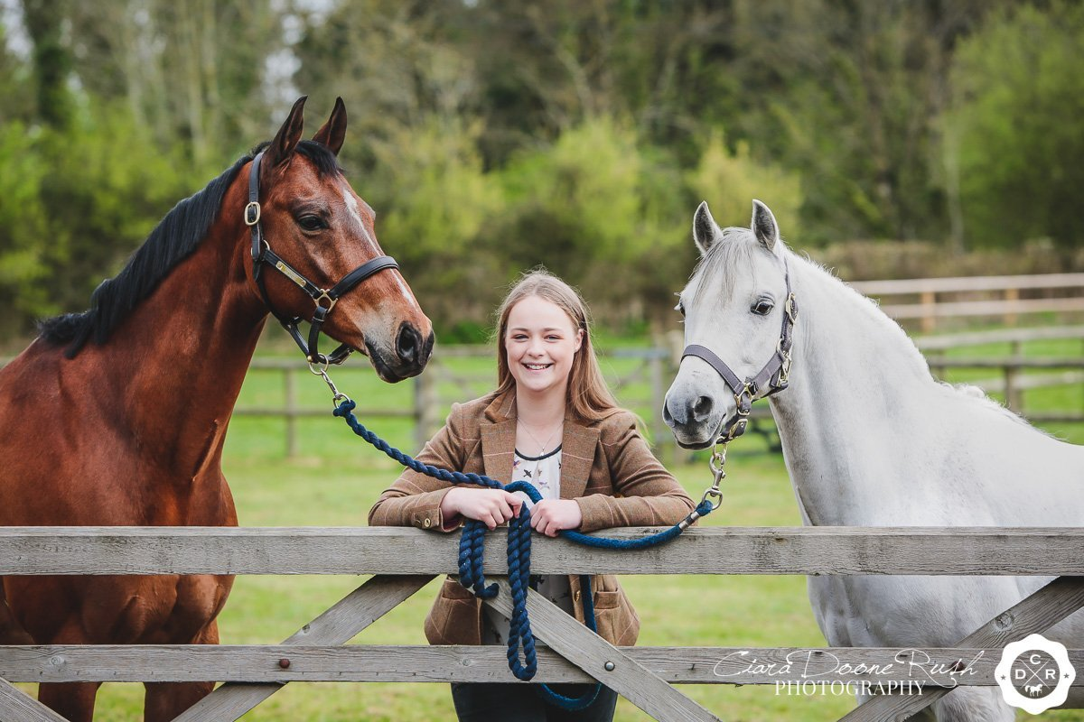 A Horse & Rider Photo Shoot with Molly, Henry & Chip