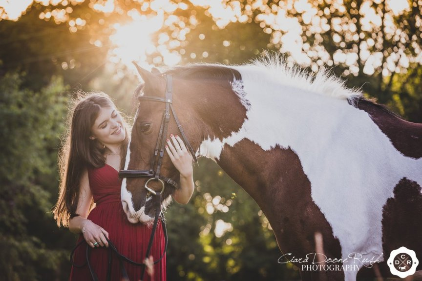 A Horse And Rider Photo Shoot Cheshire