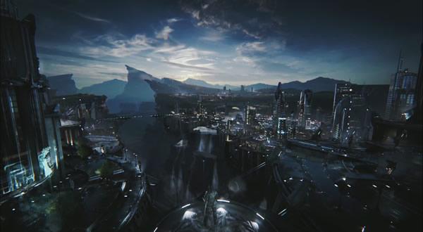 3d World Map Wallpaper For Pc 未来都市を舞台にダークな潜入ミッションを描く「unreal Engine 4」のgdc技術デモ