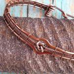 Lover S Knot Bracelet Wire Weaving Tutorial Door 44 Studios